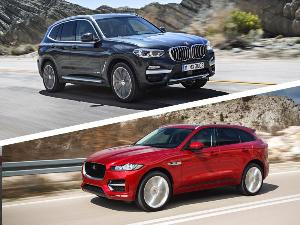2018 Jaguar F-PACE vs. 2018 BMW X3: Which is Best?