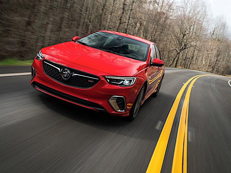 2019 Buick Regal Sportback Road Test And Review Autobytel Com