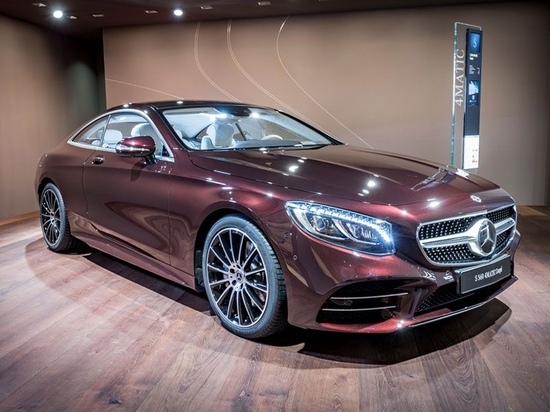 2019 Mercedes Benz S Class Exclusive Edition coupe