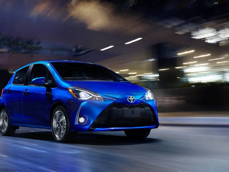 2018 Toyota Yaris Road Test And Review Autobytel Com
