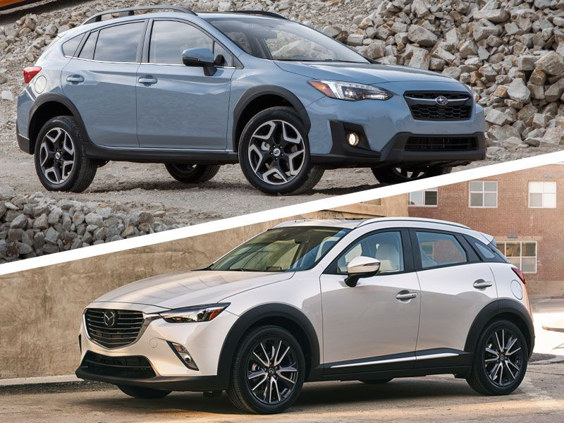 2018 Mazda Cx 3 Vs Subaru Crosstrek Which Is For You