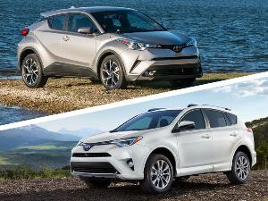 2018 Toyota C-HR vs 2018 Toyota RAV4: What