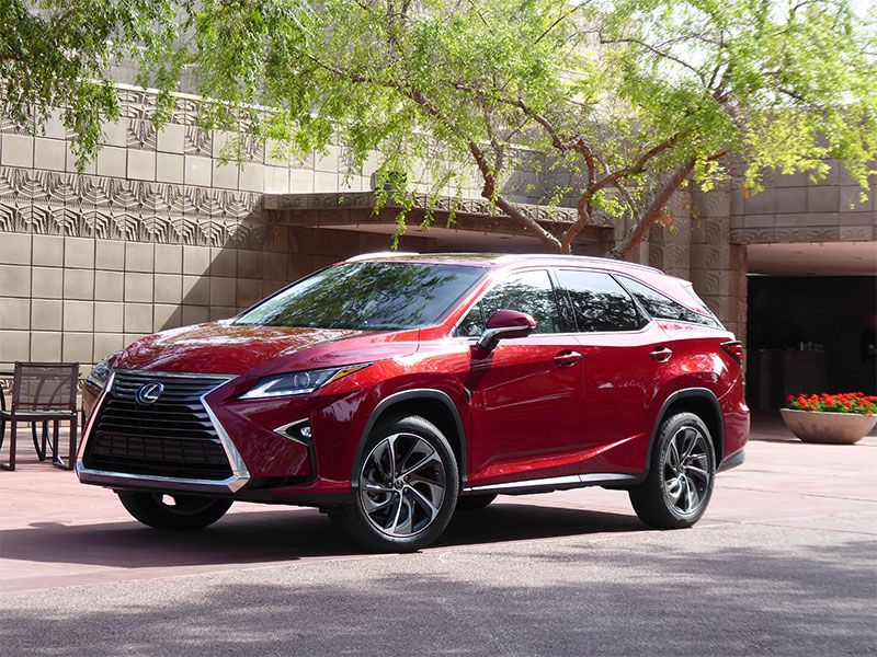 2018 Lexus RX 350L exterior hero by Ron Sessions