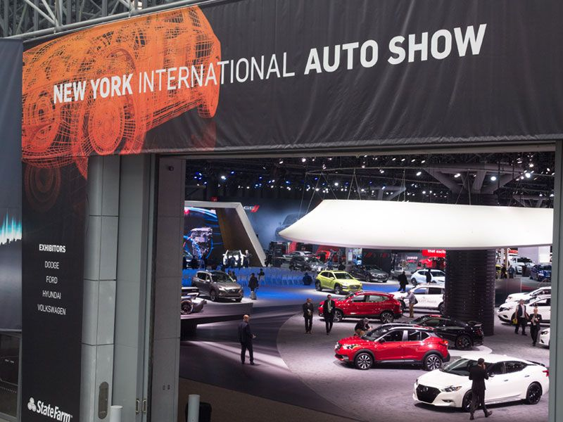 2018 New York International Auto Show showfloor