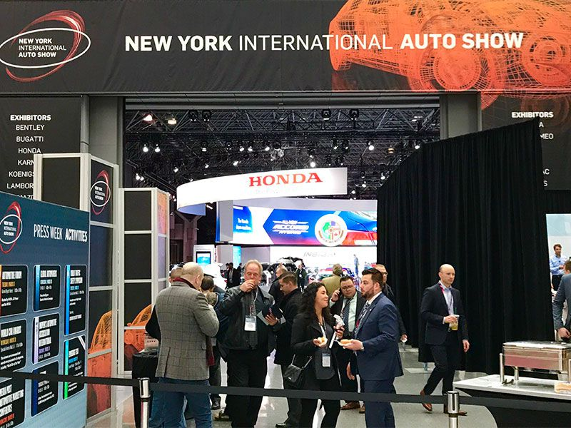 New York Auto Show Floor