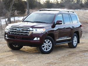 2018 Toyota Land Cruiser Road Test and Review