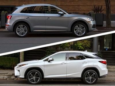 Lexus Vs Audi >> 2018 Audi Q5 Vs 2018 Lexus Rx Which Is Best Autobytel Com