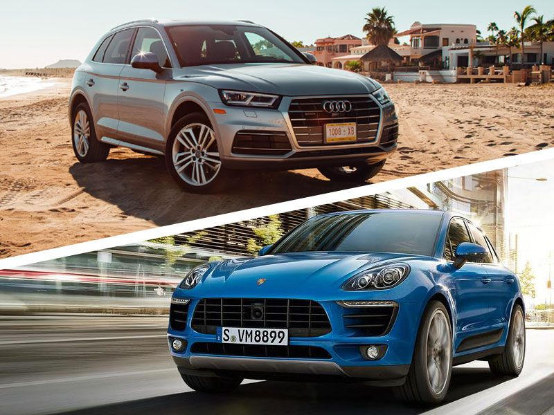 Audi Q Vs Porsche Macan Which Is Best Autobytelcom - Audi q5 family car