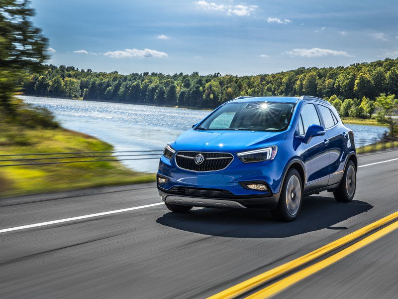 10 honda hr v competitors for Buick encore vs honda hrv