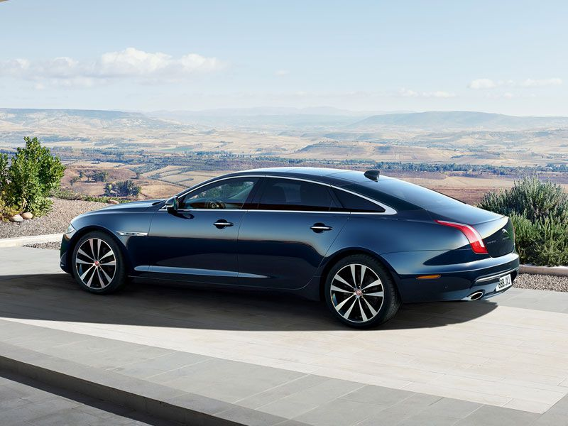 2019 Jaguar XJ50 profile