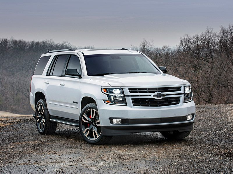 2018 Chevrolet Tahoe RST hero