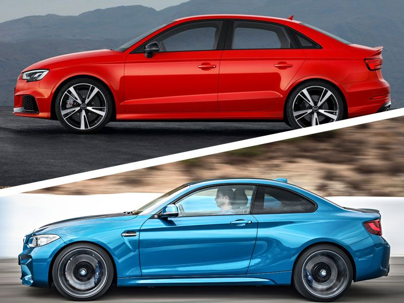 2018 Audi RS 3 vs. 2018 BMW M2: Which Is Best?