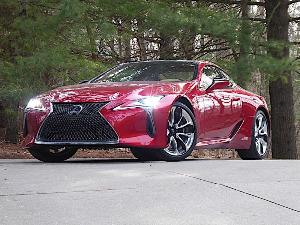 10 Things You Need to Know About the 2018 Lexus LC500h Hybrid