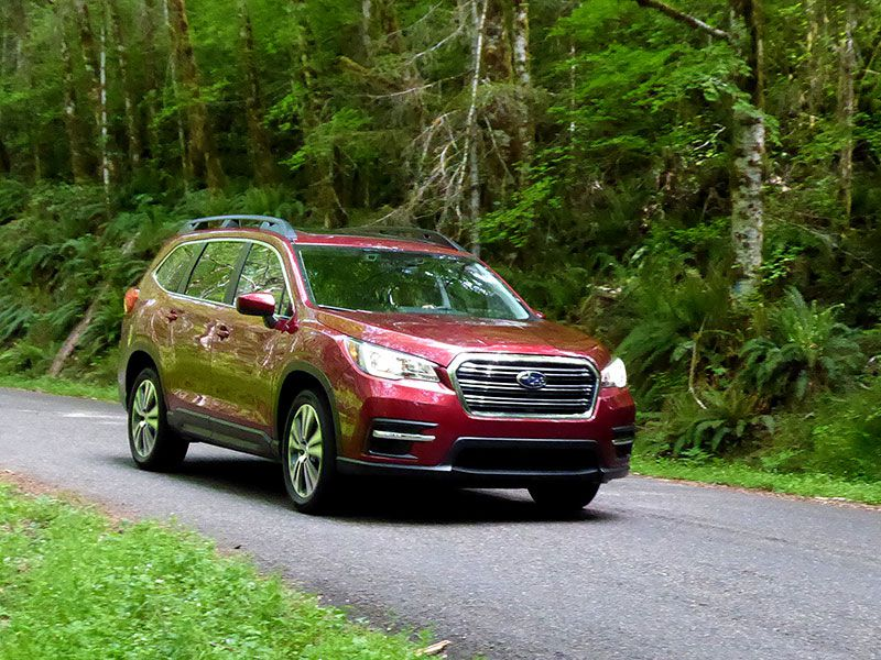 10 things you need to know about the 2019 subaru ascent. Black Bedroom Furniture Sets. Home Design Ideas
