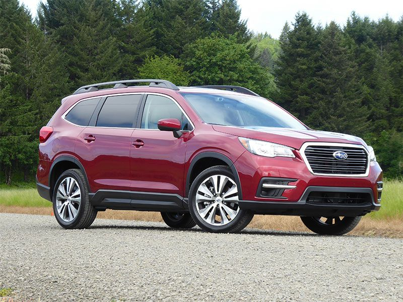 2019 Subaru Ascent by Ron Sessions exterior hero
