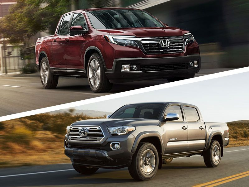 2018 Honda Ridgeline vs 2018 Toyota Tacoma: Which is Best?