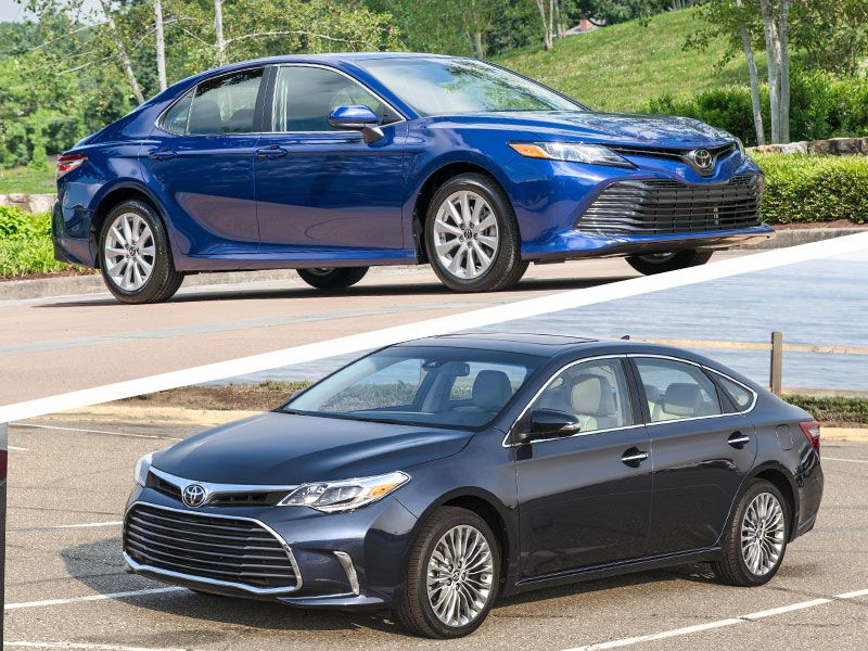 2018 Toyota Avalon Vs Camry Which Fits You Best