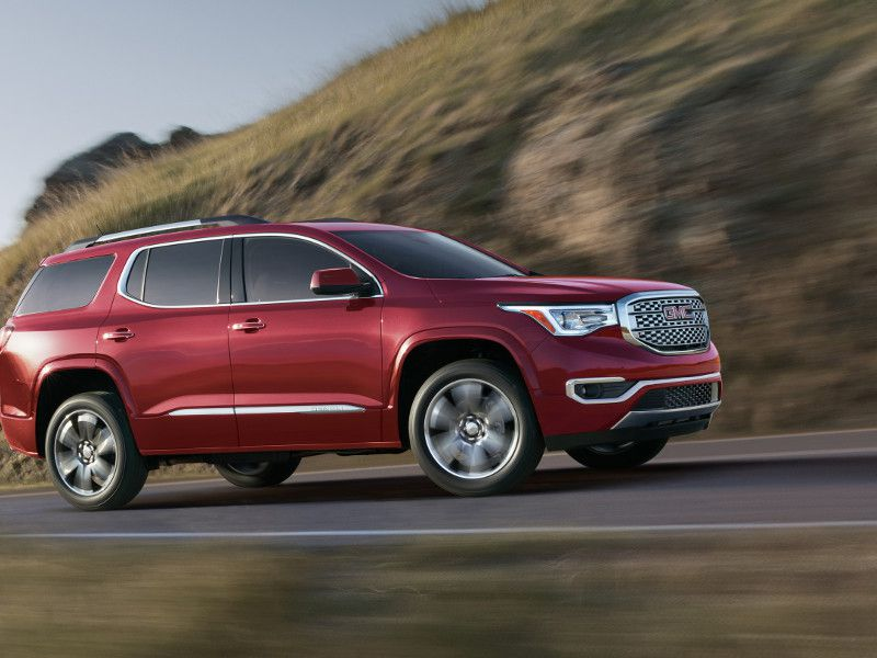 2019 Gmc Acadia Sl Fwd 21 Mpg City 26 Highway 23 Combined