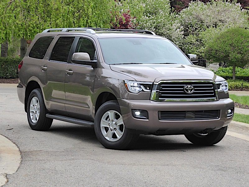 2018 Toyota Sequoia Road Test And Review
