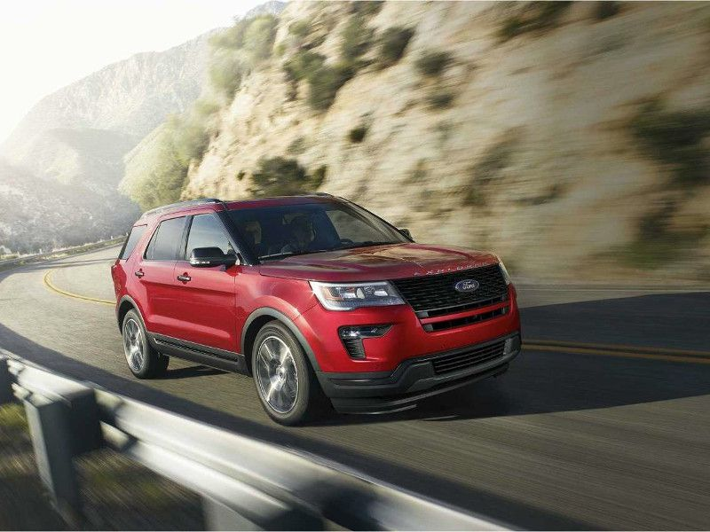 2018 Ford Explorer Sport driving