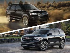 2018 GMC Acadia vs. 2018 Ford Explorer: Which Is Best?