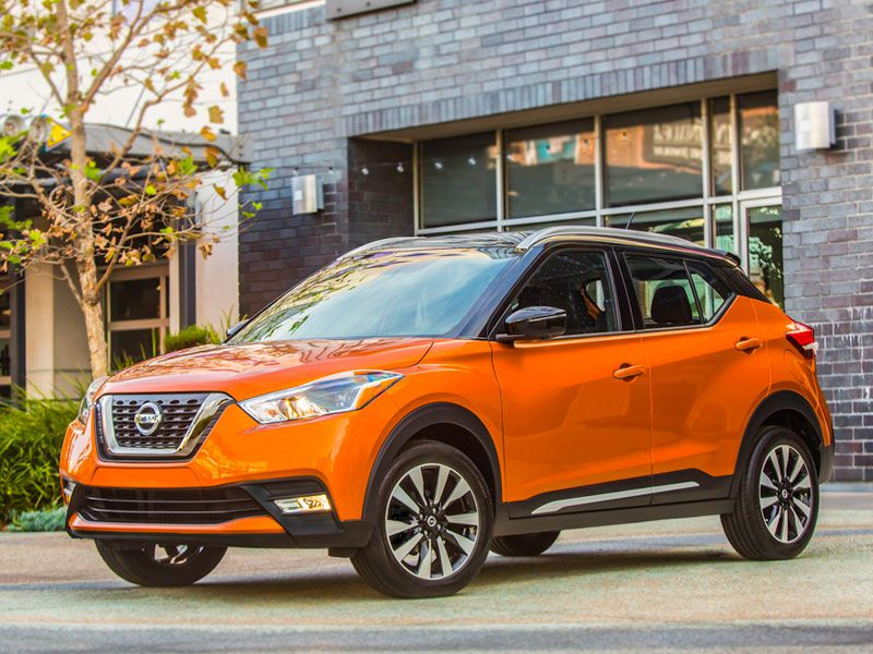 2018 Nissan KICKS exterior hero