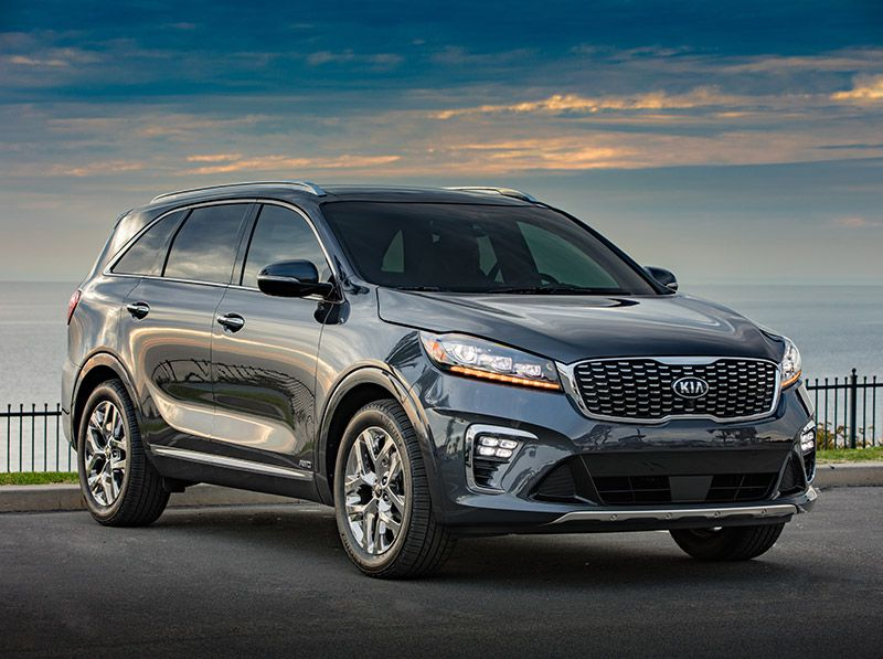 Top 10 Competitors of the  2019 Kia Sorento