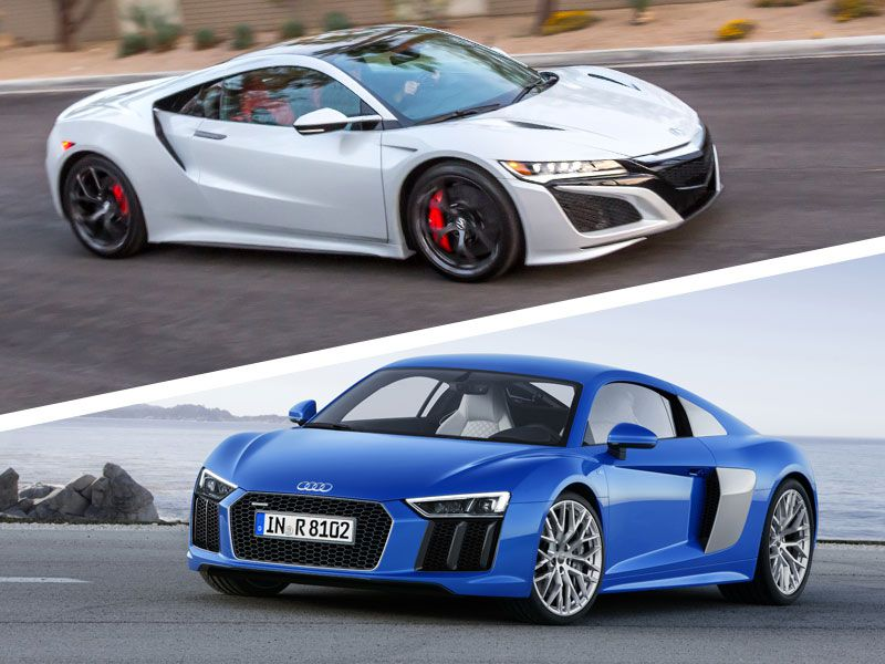 2018 Acura NSX vs. 2018 Audi R8: Which Is Best?