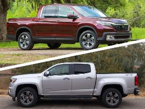 2018 Honda Ridgeline vs. 2018 Chevrolet Colorado: Which Is Best?
