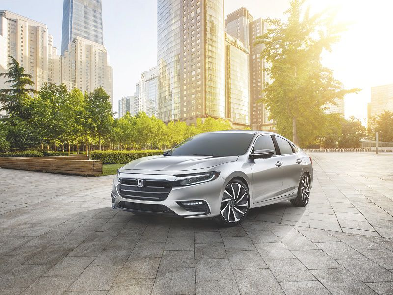2019 Honda Insight Prototype Silver Front Quarter