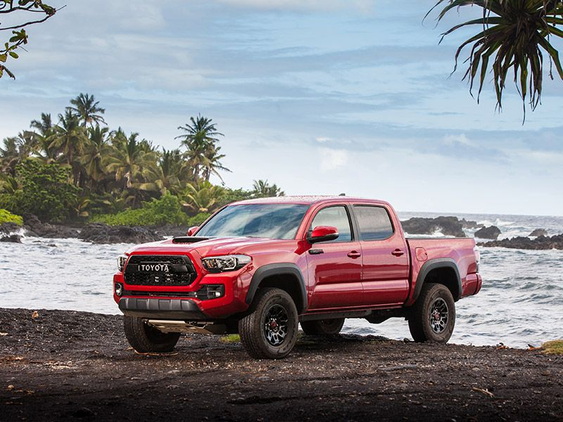 10 Best Used Small Trucks 2017 Toyota Tacoma Trd Pro Front Three Quarter