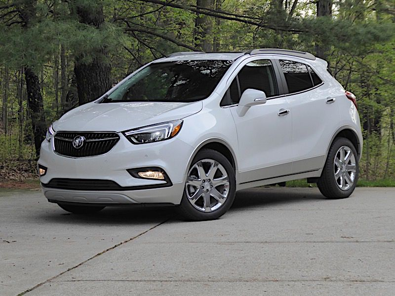18 Buick Encore front sessions