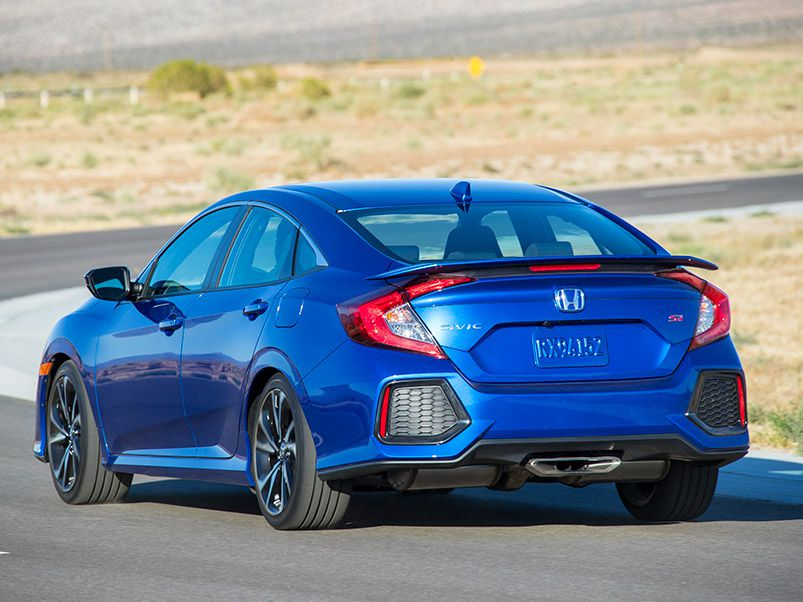 2018 Honda Civic Si Vs 2018 Honda Civic Type R Which Is
