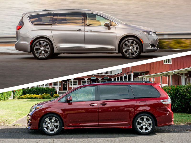 2018 Toyota Sienna vs. 2018 Chrysler Pacifica: Which Is Best?