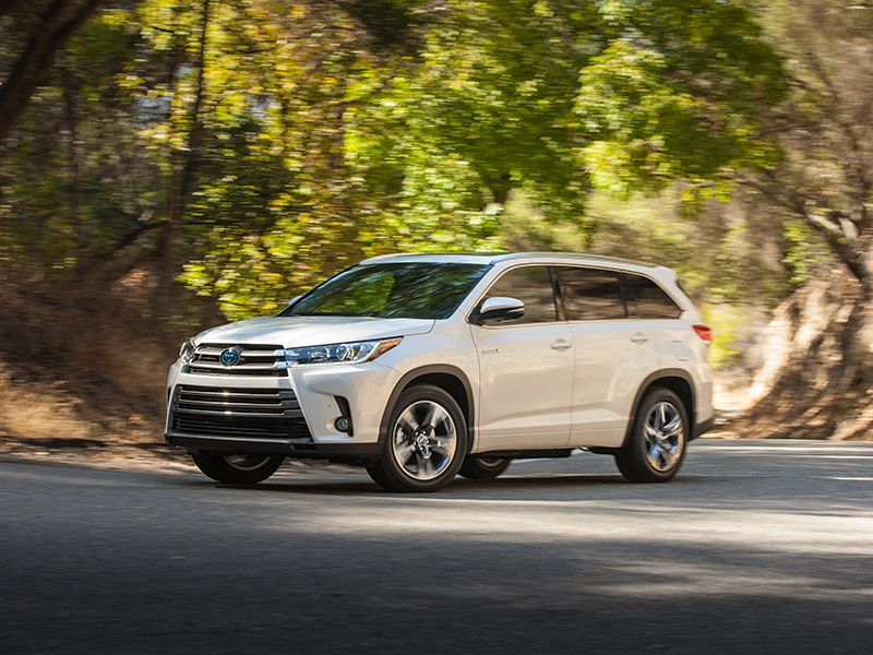Hybrid Options There Are Four Toyota Highlander