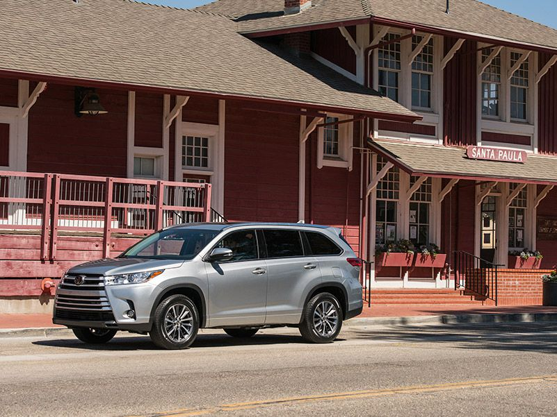 2018 Toyota Highlander SE house profile