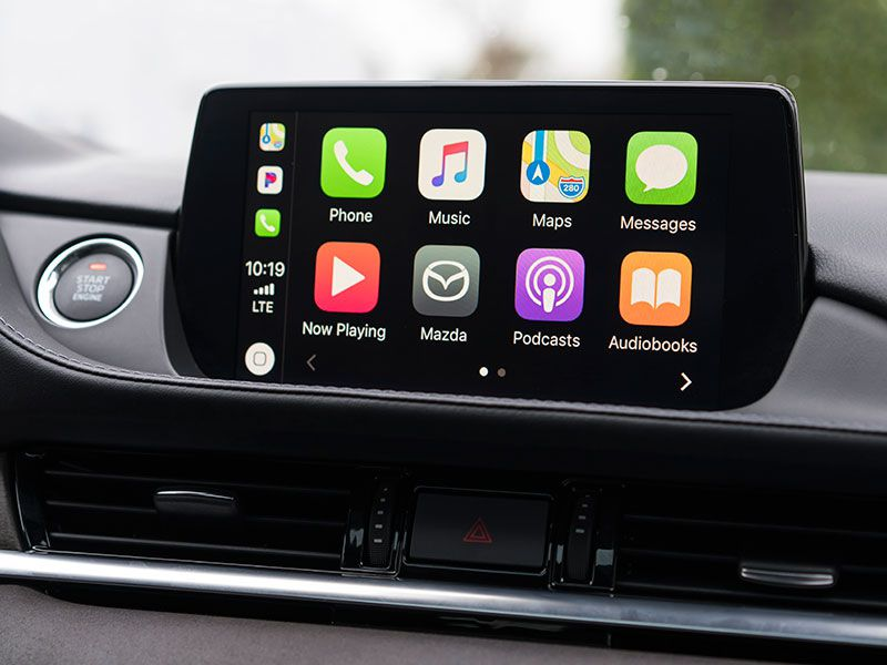 2018 Mazda Apple CarPlay Screen