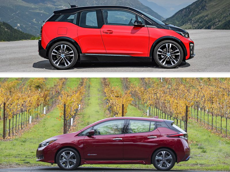 2018 Bmw I3 Vs Nissan Leaf Which Is Best