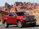 2018 GMC Canyon red in desert