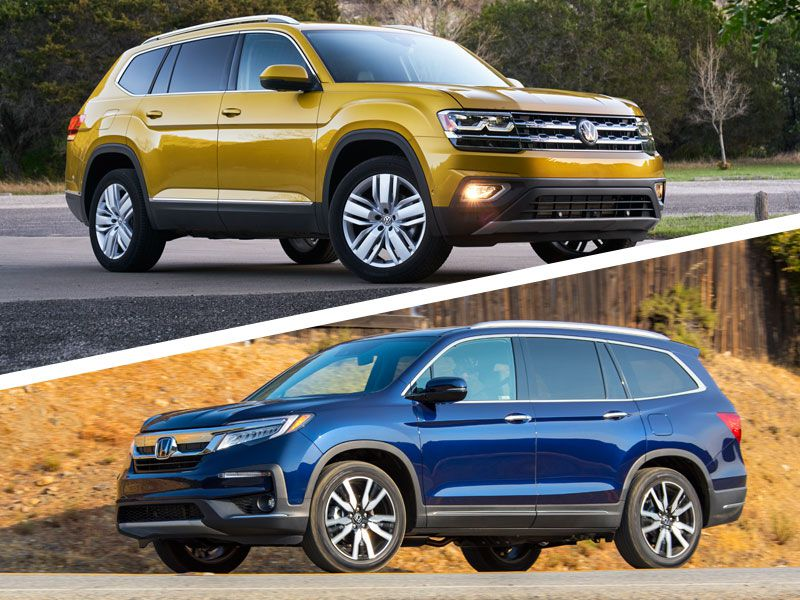 2018 Volkswagen Atlas vs. 2018 Honda Pilot: Which Is Best?