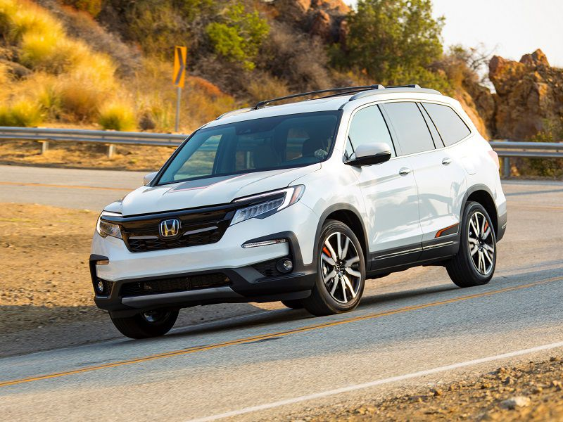 2019 Honda Pilot Touring Fwd 20 Mpg City 27 Highway 23 Combined
