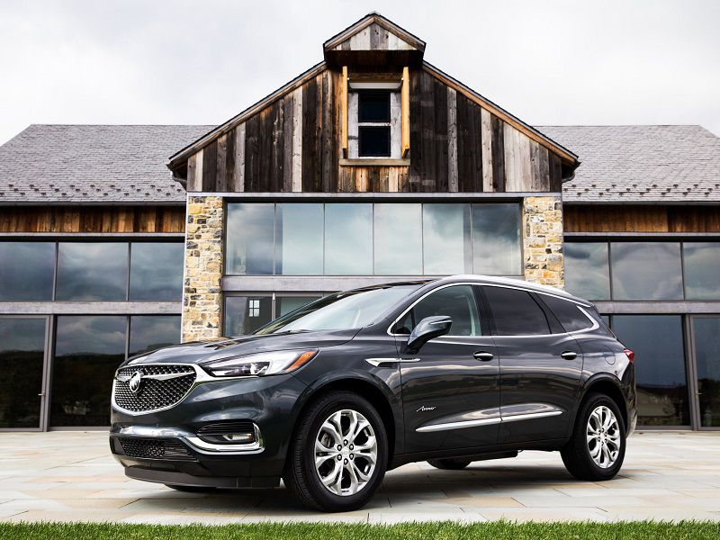 2018 buick encore vs buick envision vs buick enclave which is for you. Black Bedroom Furniture Sets. Home Design Ideas
