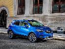 2018 Buick Encore Blue Parked Profile Side