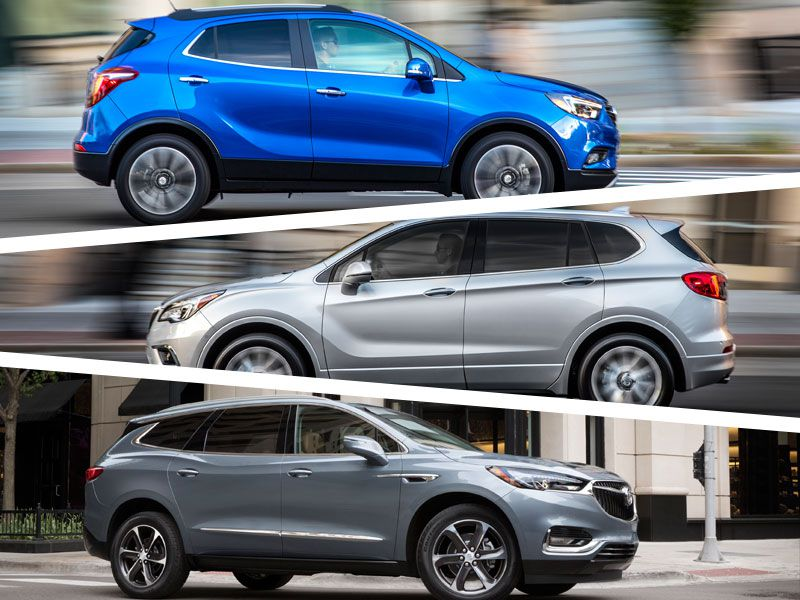 2018 Buick Encore vs. Buick Envision vs. Buick Enclave: Which is for you?