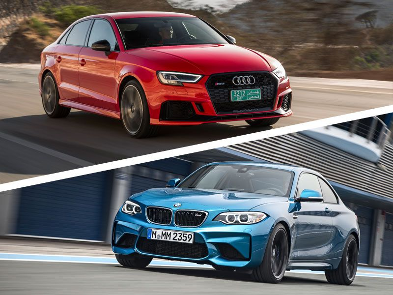 2018 Audi RS3 vs. 2018 BMW M2: Which is Best?