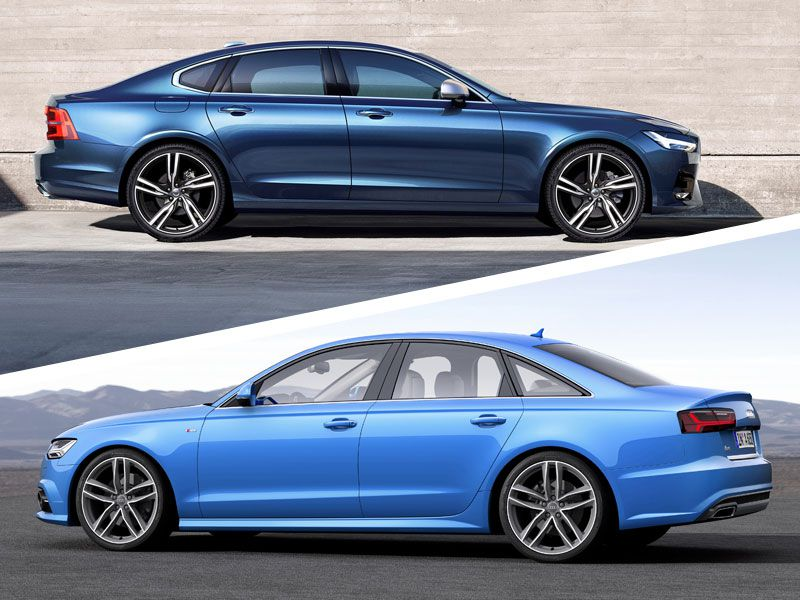 2018 Volvo S90 vs. 2018 Audi A6: Which is Best?