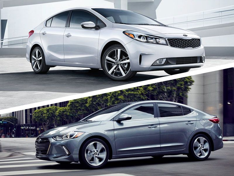 2018 Kia Forte vs. 2018 Hyundai Elantra: Which is Best?