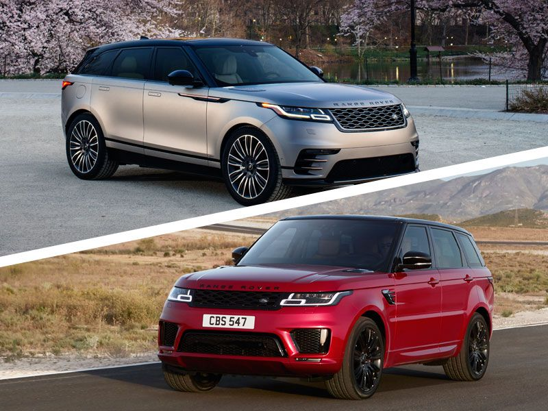 2018 Range Rover Velar Vs Sport Which Is For You