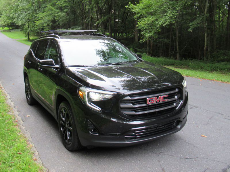 1 2019 GMC Terrain front three quarter