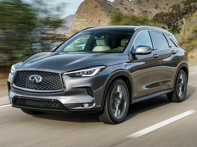 2019 INFINITI QX50  front three quarter